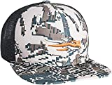SITKA Gear Men's Trucker Breathable Mesh Hunting Cap, Optifade Open Country, OSFA