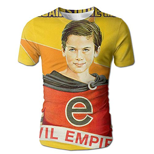 Geneva F Rage Against The Machine Evil Empire Men's Fashion 3D Printed Short Sleeve T Shirts XXL White