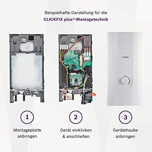 Bosch elektronischer Durchlauferhitzer Tronic 8500, 24/27 kW, Übertisch, druckfest mit AquaStop, 2-in-1 Leistungsumschaltung und Multifunktionsdisplay - 5