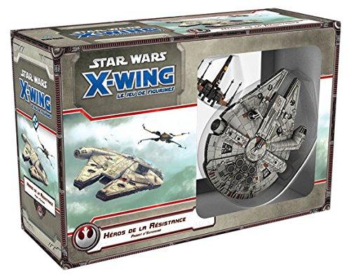 Star Wars X-Wing - Héroes de la Resistencia, Asmodee - Juego de...
