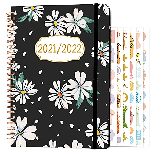 2021-2022 Diary - A5 Week to View Academic Weekly & Monthly Diary Planner 2021-2022, Aug 2021 - Jul...