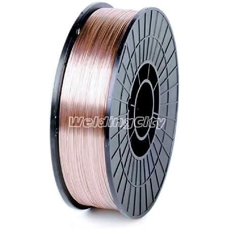 ER70s-6 mild steel MIG welding wire 11 pound roll 0.035 diameter
