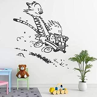 YuanMinglu Vinilos Decorativos para el hogar Sala de Estar Dormitorio niños niña Arte decoración Cartel Mural Papel 42x54 cm