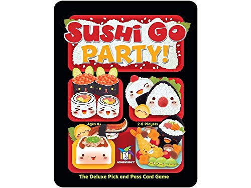 Gamewright Sushi Go Party- The Deluxe Pick %26 Pass Card Game for 13.99