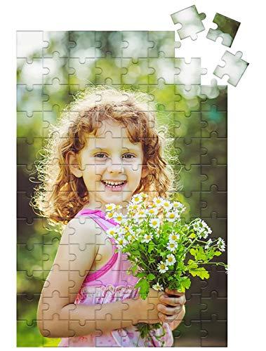 SWECOMZE Puzzle mit eigenem Foto gestalten,können selbst entwerfen, 150 bis 1000 Teile | mit Geschenk-Schachtel-, ideal als persönliches Fotogeschenk (300 Teile)