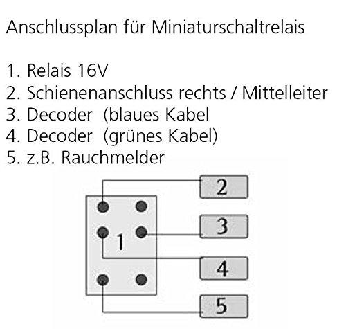 ESU 51963 Relais 1 Ampere Miniatur Scha