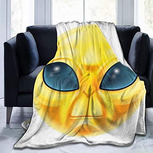 Manta de forro polar ultrasuave para adultos, manta de forro polar, diseño de Alicia en el país de las maravillas conejo y gato, manta de sofá suave y cómoda de 50 x 40...