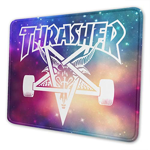 ROIHFOS Thrasher Gaming Mouse Pad, Non-Slip Design Mouse pad with Natural Non-Slip Rubber Base