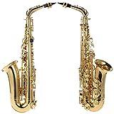 Immagine 1 ammoon sassofono alto ottone oro