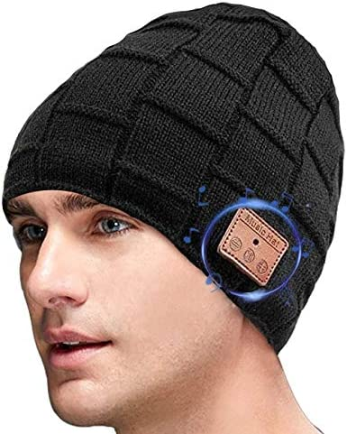 iWINTOP Bluetooth Beanie Hat for Men Women Gifts V5 0 Headphone Beanie Music Hat for Outdoor product image