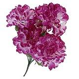 Sharplace Chrysanthème de Soie Bouquet de Fleurs Artificielle Décor Enterrement Maison - Violet
