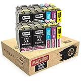 Matsuro Originale | Compatible Cartouches d'encre Remplacement pour HP 932XL 933XL 932 XL 933 XL (2 Sets + 2 BK)