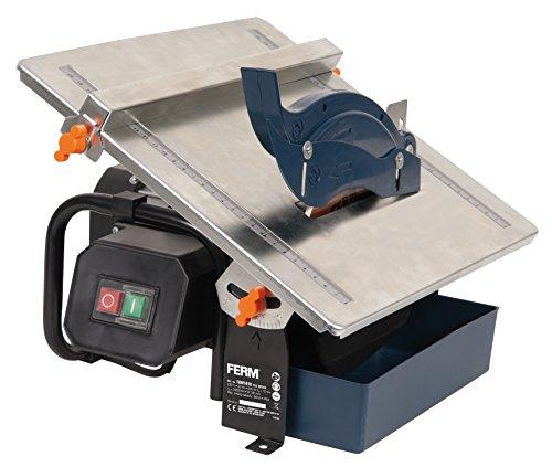FERM Tagliapiastrelle 600W 180mm - Sistema di raffreddamento ad acqua - Include 1 lama diamantata