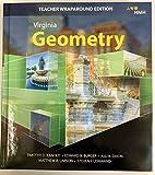 Geometry, Teacher Wraparound ed., Virginia ed., ISBN 9781328931245