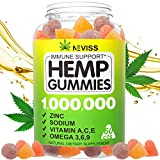 HIGH POTENCY HEMP GUMMIÉS: With 2 pieces hemp gummiés per serving and adjust as needed, it will give you a natural way to sleep better and wake up refreshed with energy, support calm & mood, improve memory & focus, boost skin & hair and strengthen im...