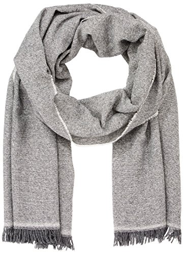 Marc O\'Polo Herren 729835502100 Schal, Grau (Grey Stone Melange 939), One Size