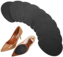 GADEBAO 12PCS Upgrade Self-Adhesive Anti-Slip Stick Pad for Shoes Bottom, Premium Rubber Non-Skid Sole Protector, Used for Non-Slip Noise Reduction