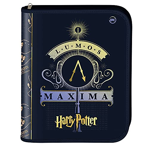 Caderno Argolado Universitário - Harry Potter