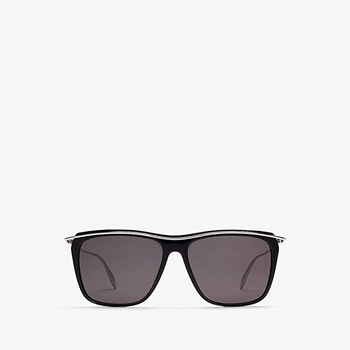 Alexander McQueen  AM0143S (Black) Fashion Sunglasses