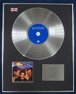 colourfield–Edición limitada CD disco de platino–LP Vírgenes y filisteos