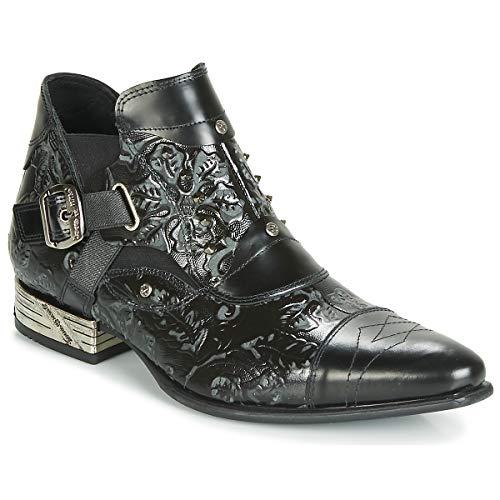 NEW ROCK Brava Botines/Low Boots Hombres Negro - 41 - Botas de caña Baja