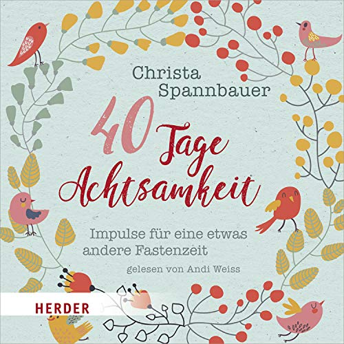 40 Tage Achtsamkeit audiobook cover art