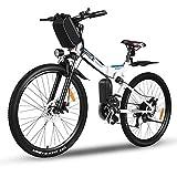 Vivi Mountain Bike elettrica da 26', Bici elettrica da Montagna Pieghevole, Batteria Rimovibile 36V...