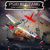 BLACKOBE RC Plane, Remote Control Airplane Glider 761-5, Mustang P-51D 4CH, 6-axis Stabilizer, RTF Aircraft for Beginners to Expert, Kids 14+, Christmas Halloween New Year Gift (L:29.53in W:25.6in)