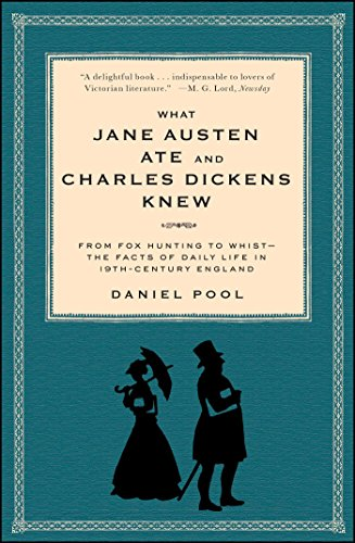 What Jane Austen Ate and Charles Dickens Knew: From Fox Hunting to Whist-the Facts of Daily Life in Nineteenth-Century England (English Edition)