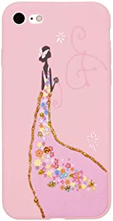 Margoun Pinky Case for Apple iPhone 7/8 (4.7 inch) TPU Protective Back Cover/With Skirt Design - MG08
