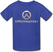 RSHSJCZZY Summer Fashion T-Shirt Men's Overwatch Logo Short Sleeve T-Shirt Generic T-Shirt