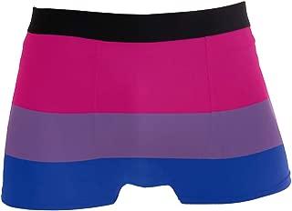 Men's Underwear Misc Bisexual Pride Flag Men Boxer Briefs Comfort Soft Boxer Briefs