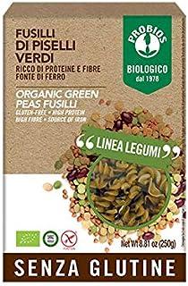 Probios Organic Green Peas Specialty Fusilli, 250g