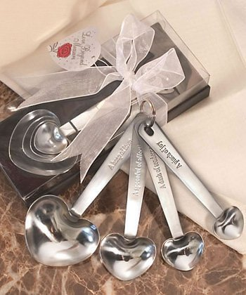 Stainless Steel Measuring Spoons in Gift Box, 18