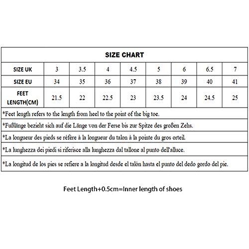 VESI – Damen Schuhe Standard/Latein 5cm/7cm Absatz Beige Knoten 39 - 5