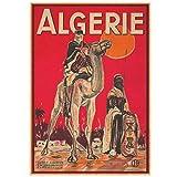 Wandbild Besuch Algerien / Algerien Reisebilder Vintage