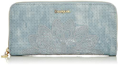 Desigual Damen Wallet Atila Fiona Women Geldbörse, Braun (Azul Palo), Einheitsgröße