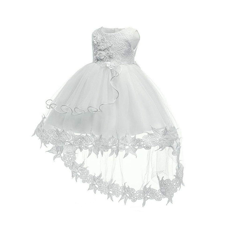 (BaQi Trade)ベビー 赤ちゃん ガールズドレス 新生児 女の子ワンピース 100days 子供ドレス キッズ フラワーガールズ
