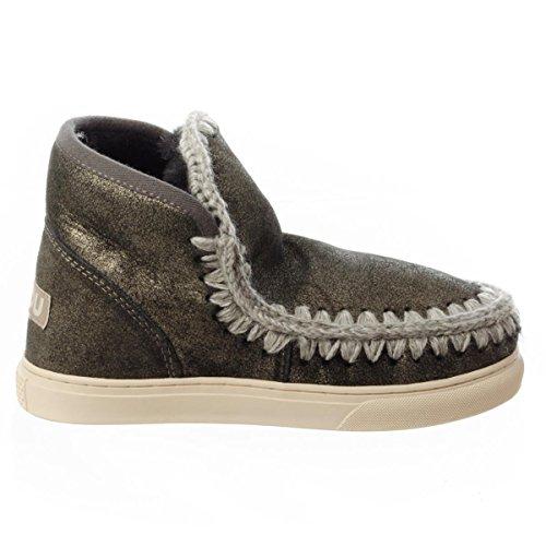 Mou Eskimo Sneaker, Damen Stiefel & Stiefeletten , schwarz - Dublk - Größe: 39 EU