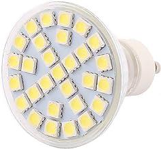 X-DREE GU10 SMD5050 29LEDs 5W Glass Energy Saving LED Spotlight Lamp Bulb White AC 220V(GU10 SMD5050 29LEDs 5W Lampadina L...