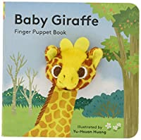 Baby Giraffe: Finger Puppet Book: (Finger Puppet Book for Toddlers and Babies, Baby Books for First Year, Animal Finger Puppets) (Little Finger Puppet Board Books)