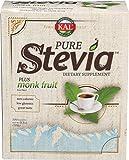 2. KAL® Sure Stevia™ Extract Powder Plus Monk Fruit (Luo Han)   Best-Tasting, Zero Calorie, Low Glycemic   100 Single-Serve Packets