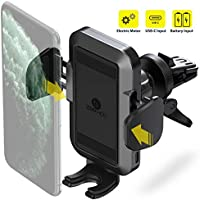 ZeeHoo Electric Powered Auto Clamping Air Vent Car Phone Mount