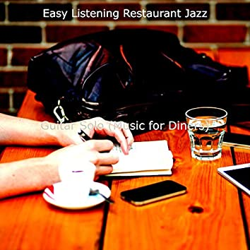Guitar Solo (Music for Diners)