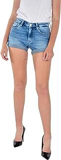 Calvin Klein Mid Rise Short Rolled Pantaloncini Donna