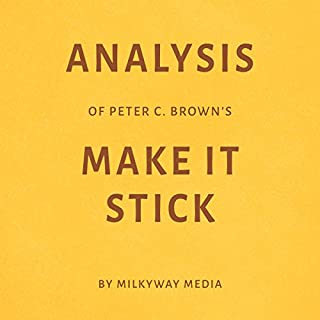 Analysis of Peter C. Brown's Make It Stick by Milkyway Media Titelbild