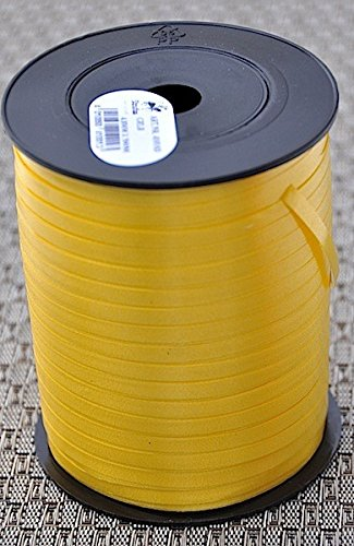 Geschenkband Jumbo 500m Präsent 4,8mm Rolle Staufen Jumbo Rolle (410103 gelb)