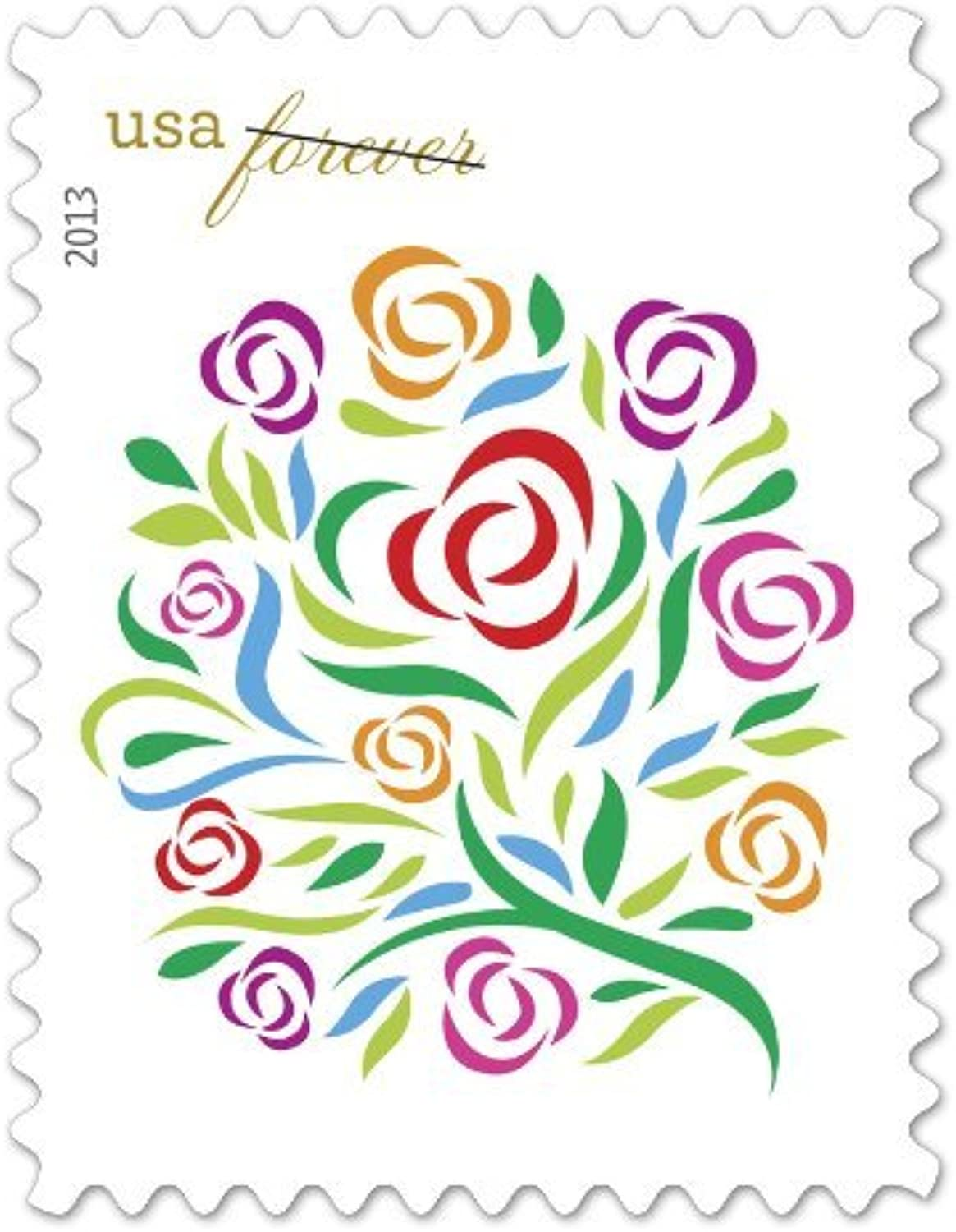 Where Dreams Blossom US Postage Forever Stamps by USPS