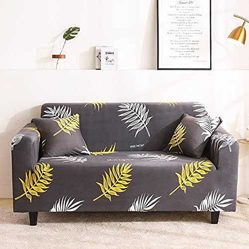 PPOS Funda de sofá elástica para Sala de Estar Funda de sofá Antideslizante Funda de sofá elástica de Spandex Universal A4 4 Asientos 235-300cm-1pc