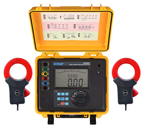 Cheapest Prices! XINXI-MAO Safe Meter ETCR3200C Multifunction Double Clamp Ground Resistance Tester ...